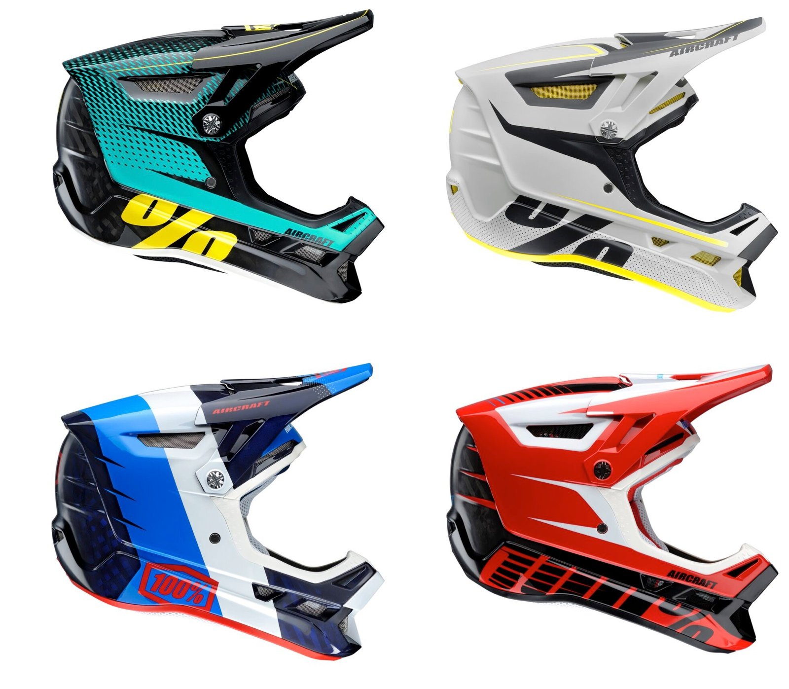Aircraft Helmet Colorways