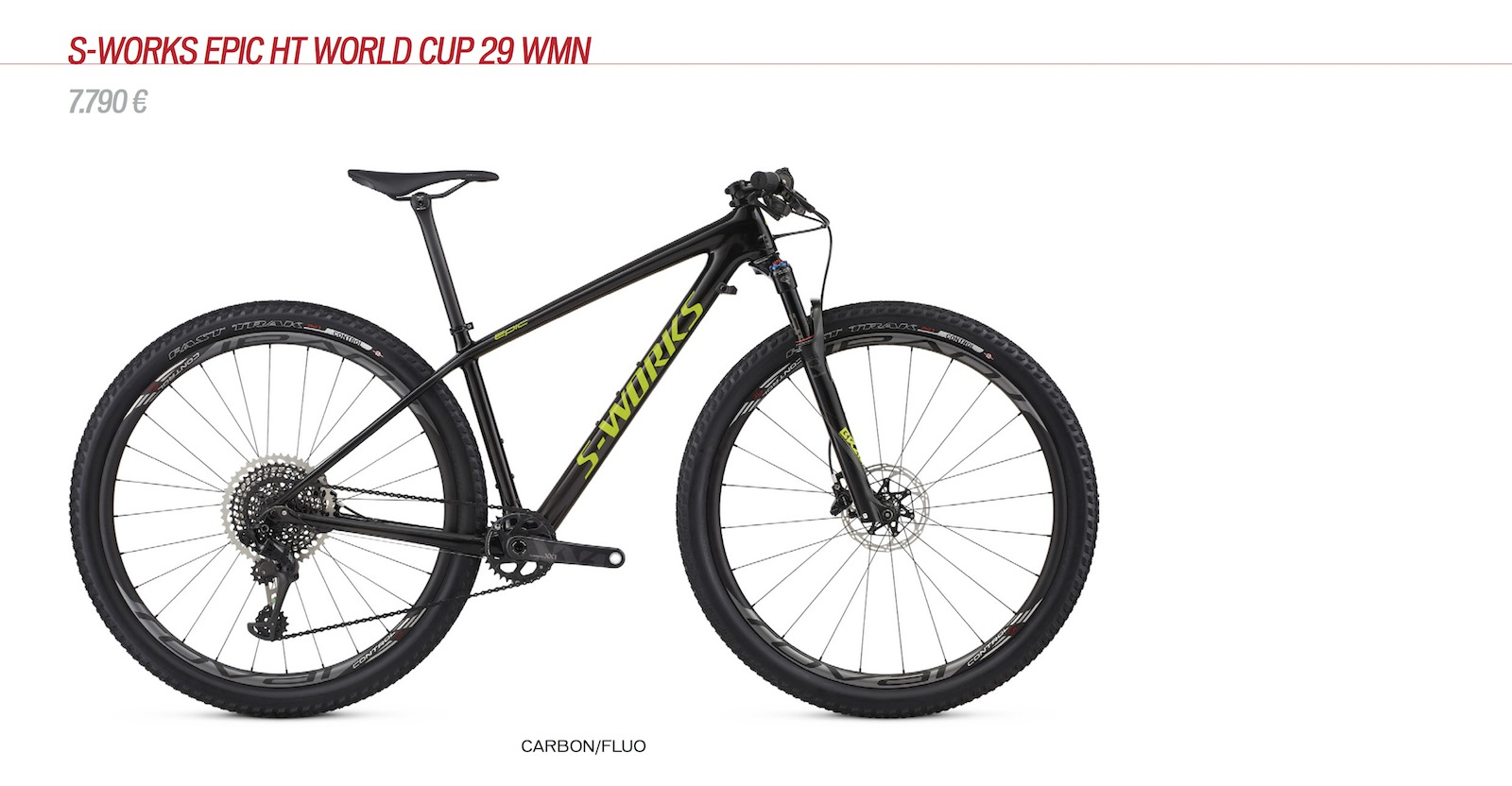 Epic HT S-Works WC Women