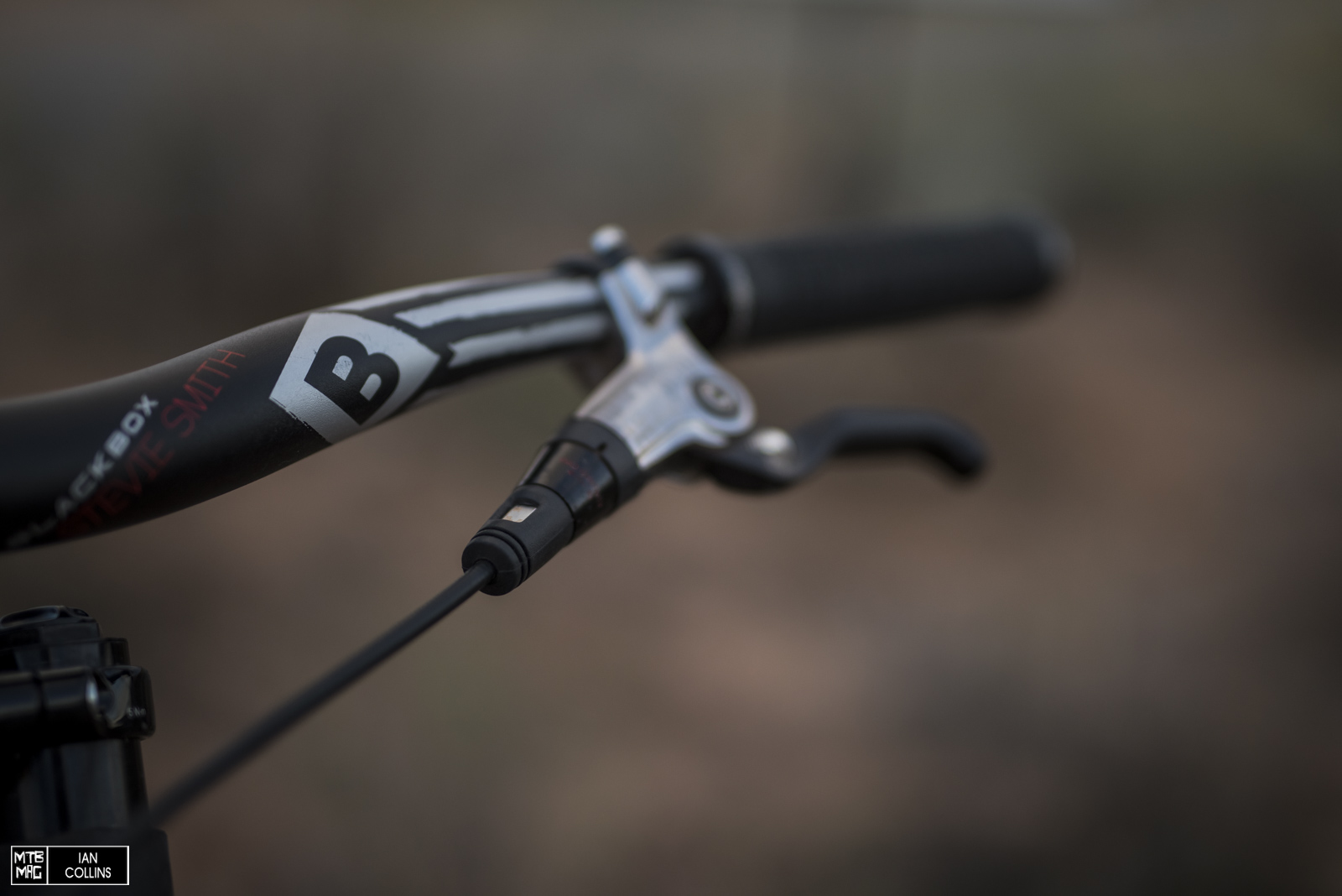 Stevie Smith Truvativ Blackbox handlebar.