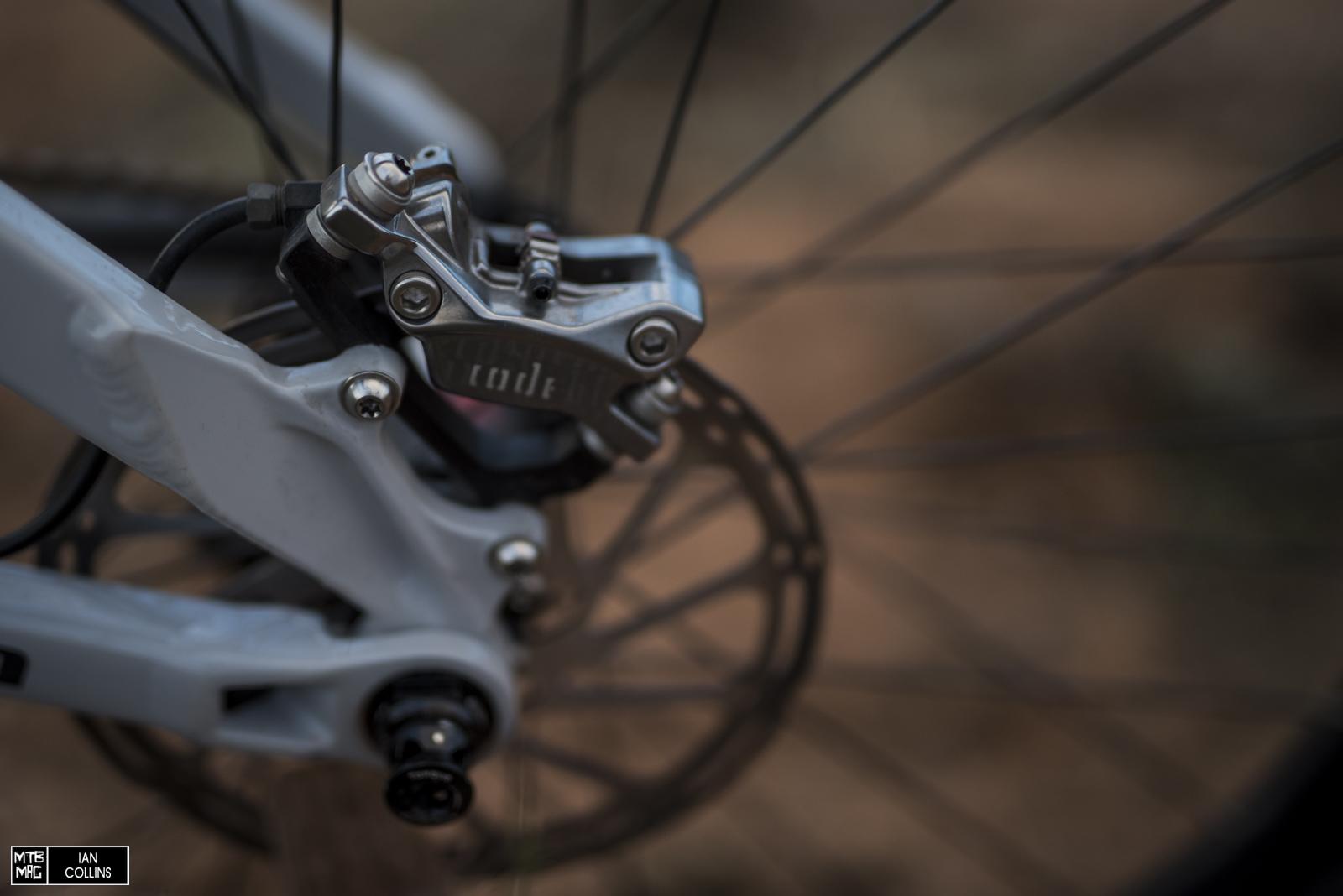 Avid Code brakes.