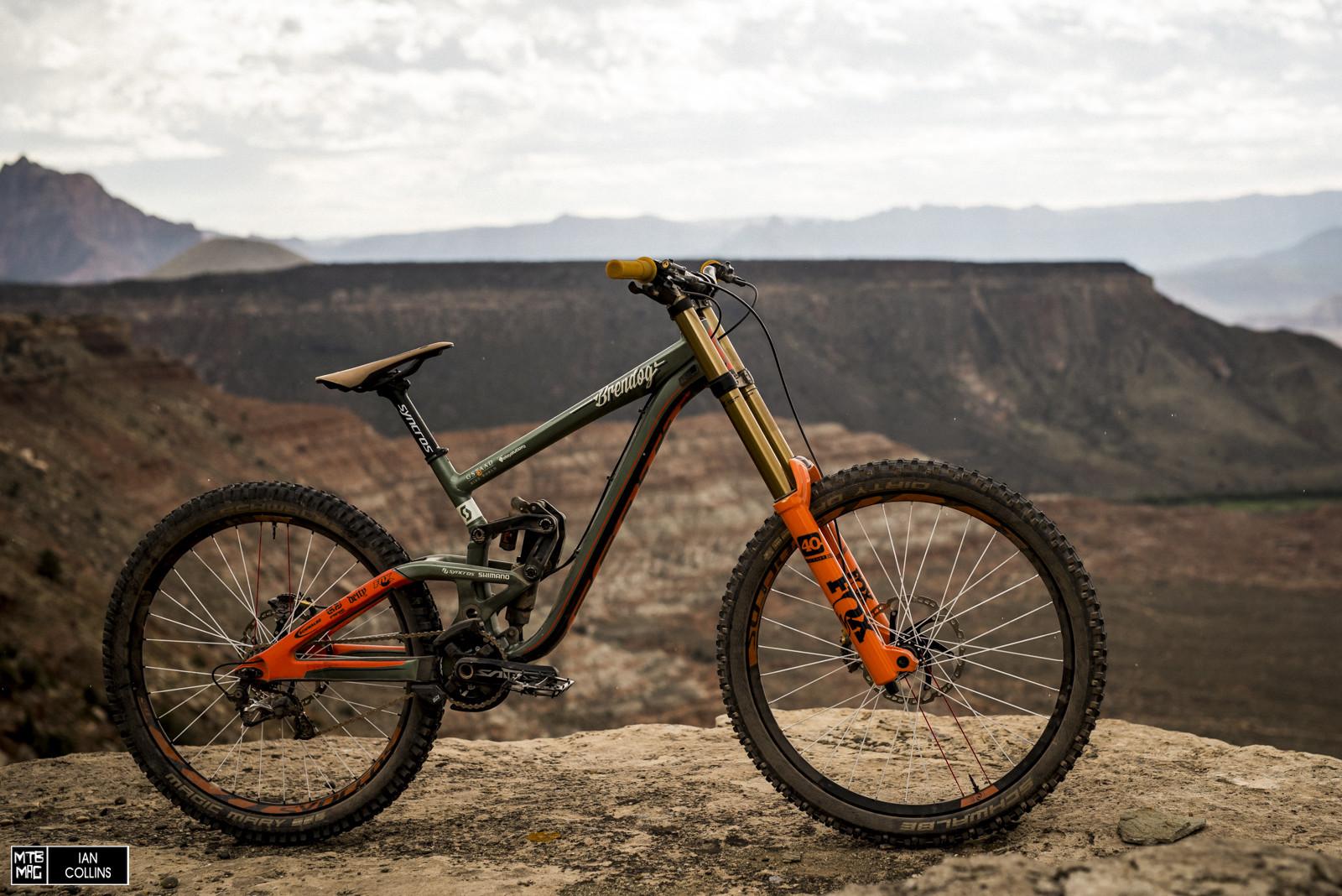 Bike Check Brendog S Custom Rampage Scott Gambler Mtb
