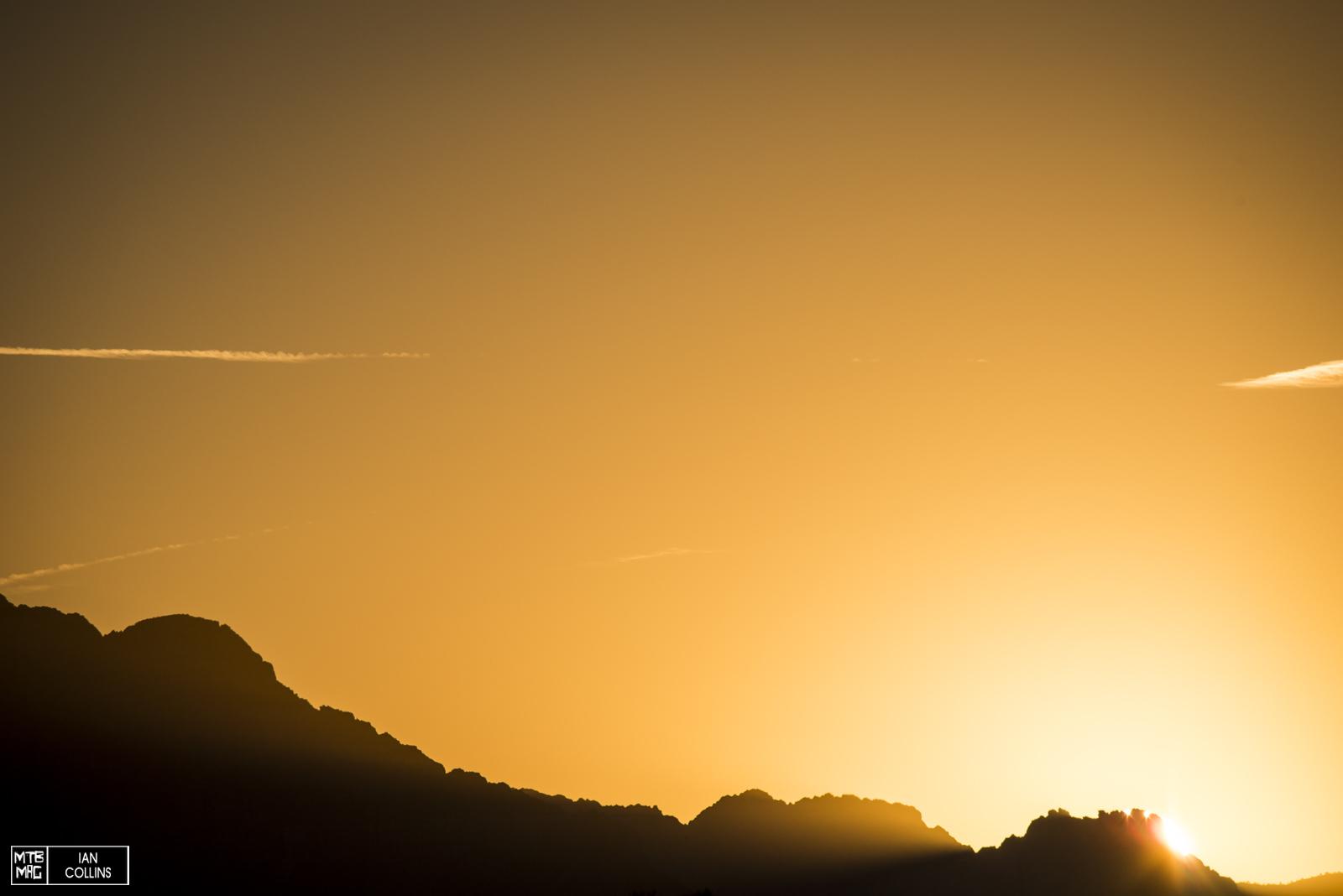 Sunrise heading towards Zion.