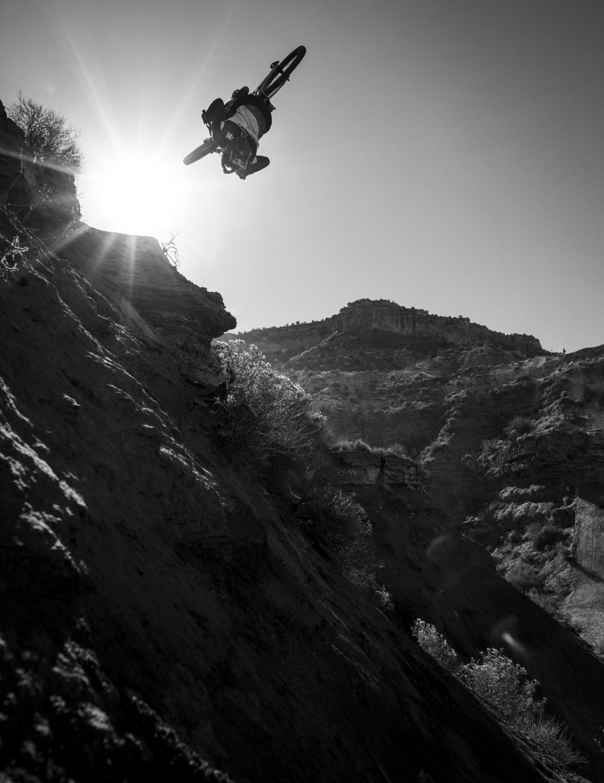 Brendon Semenuk, flat drop flip.