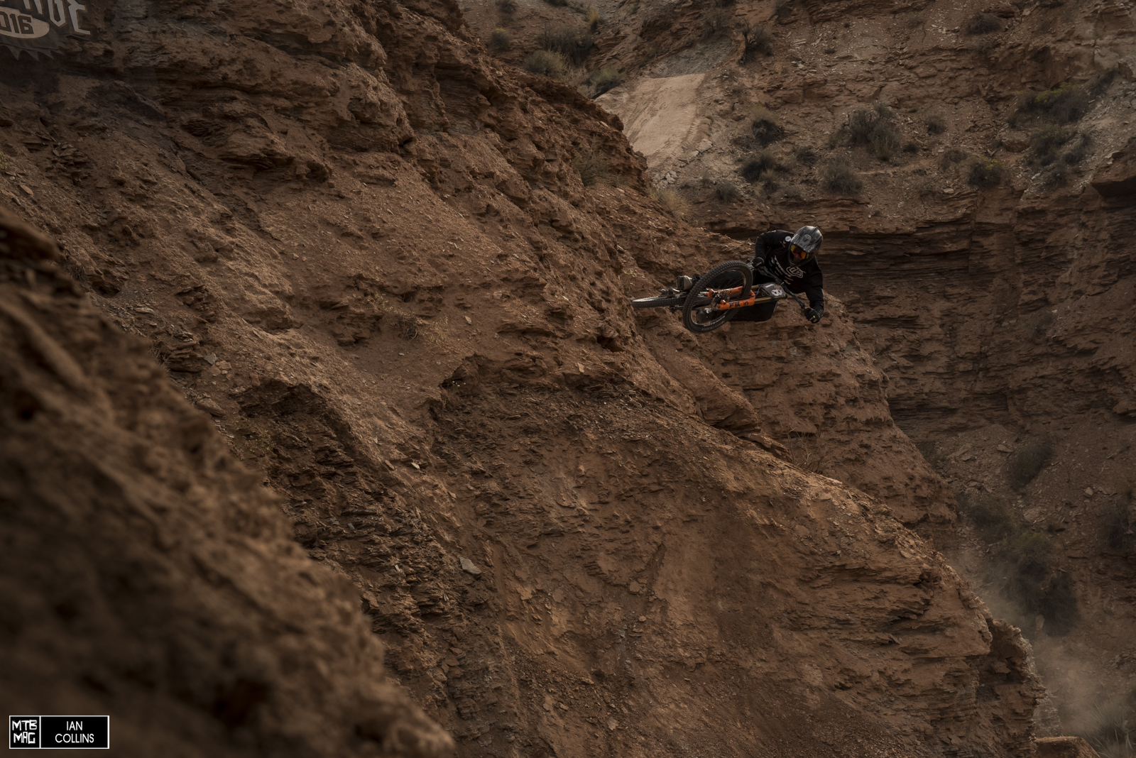 Tom Vansteenbergen's upper section was gnarly.