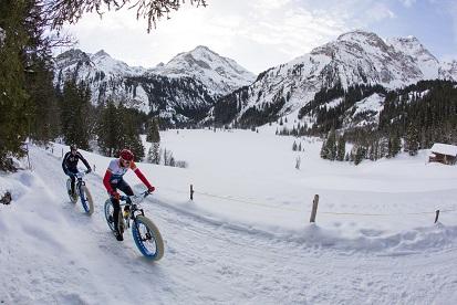 during the 2016 Snow Bike Festival, Gstaad, Switzerland.