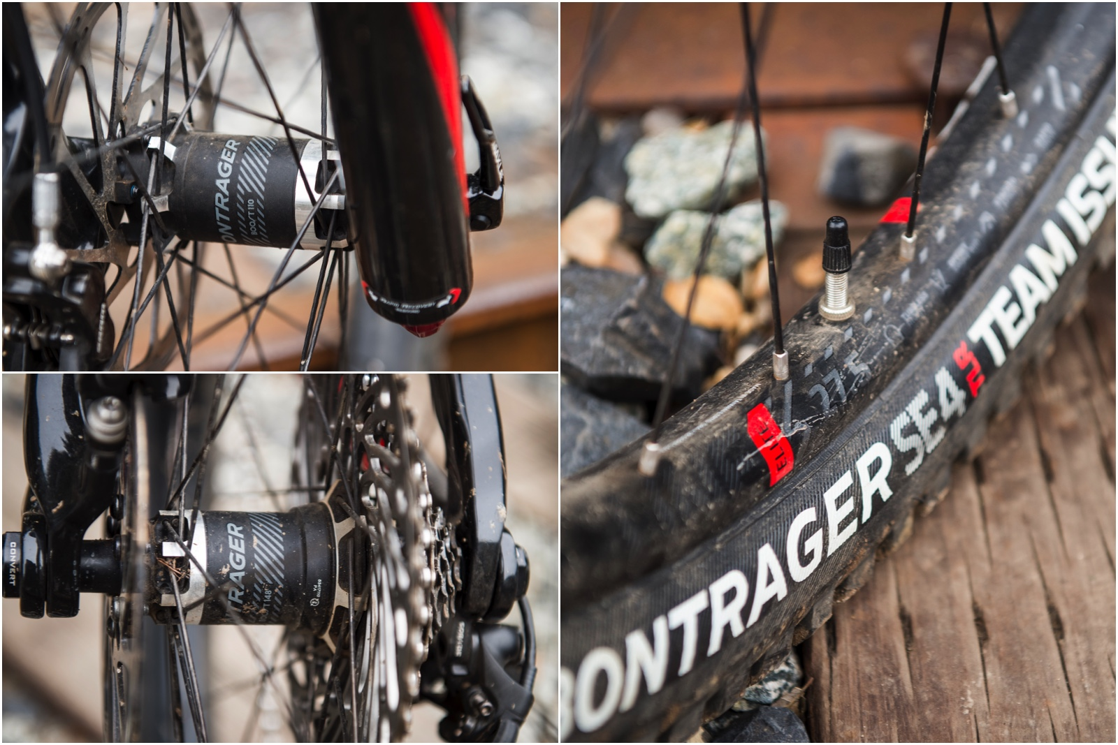 Bontrager wheels and tires