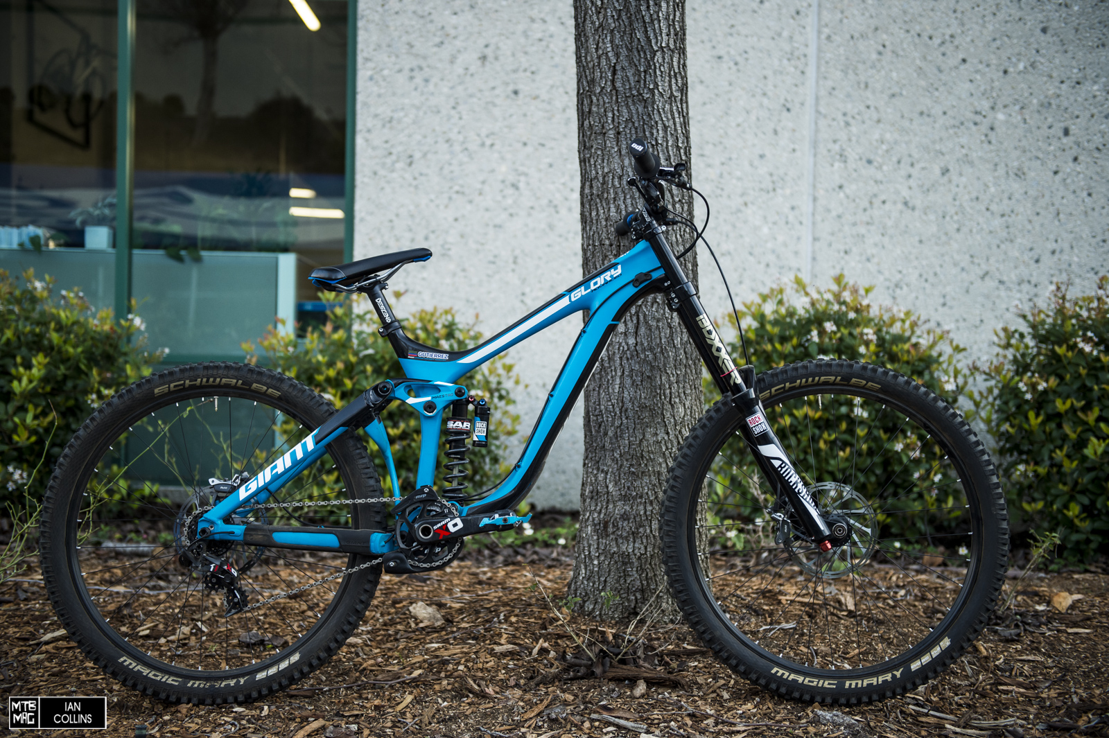 [Bike Check] Marcelo Gutierrez Giant Glory Advanced | MTB-MAG.COM