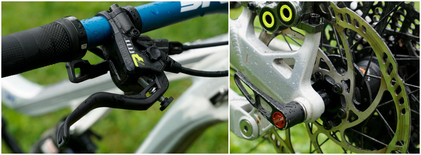 Mtb Magcom Mountain Bike Online Magazine Test Freni Magura Mt7