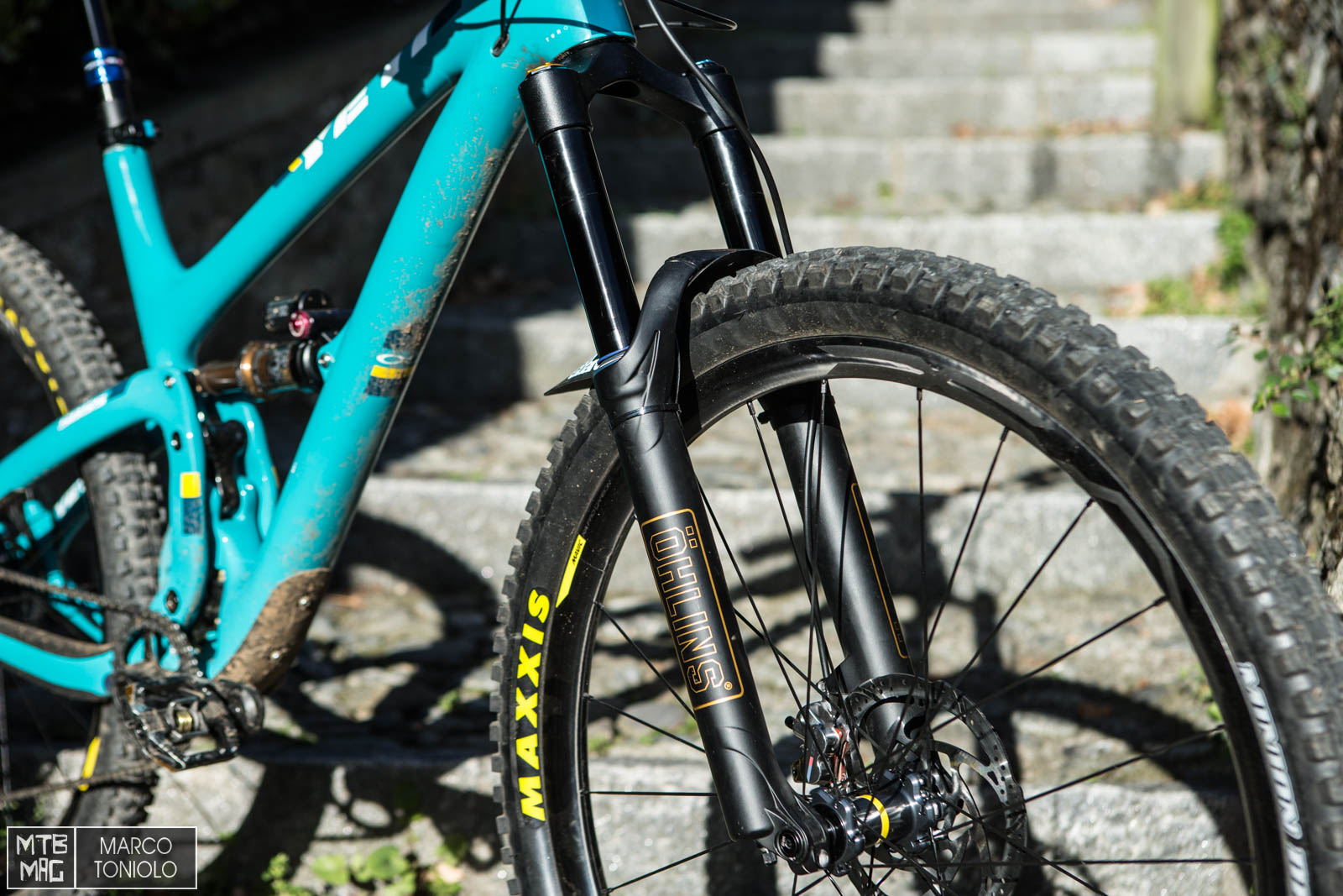 Yeti SB 5.5 dream build for our long term review | MTB-MAG.COM