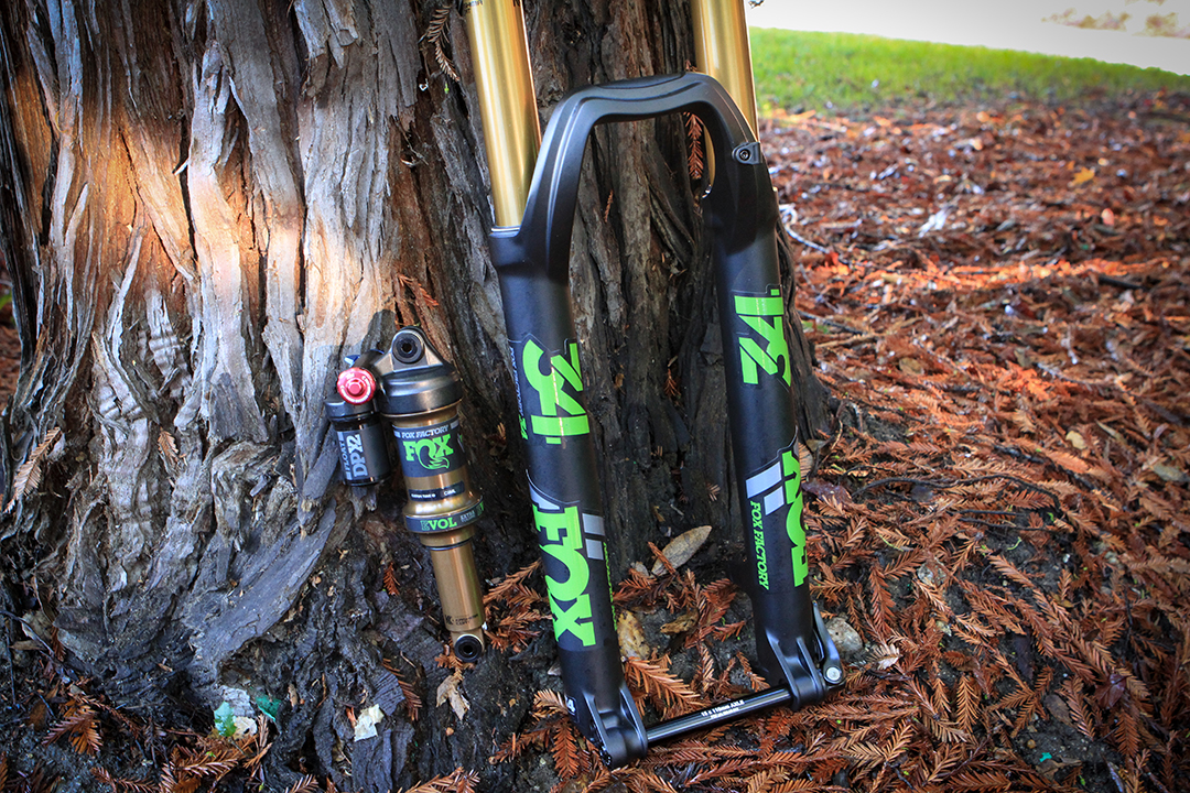 FOX Heritage Decal Kit for Forks and Shocks Green