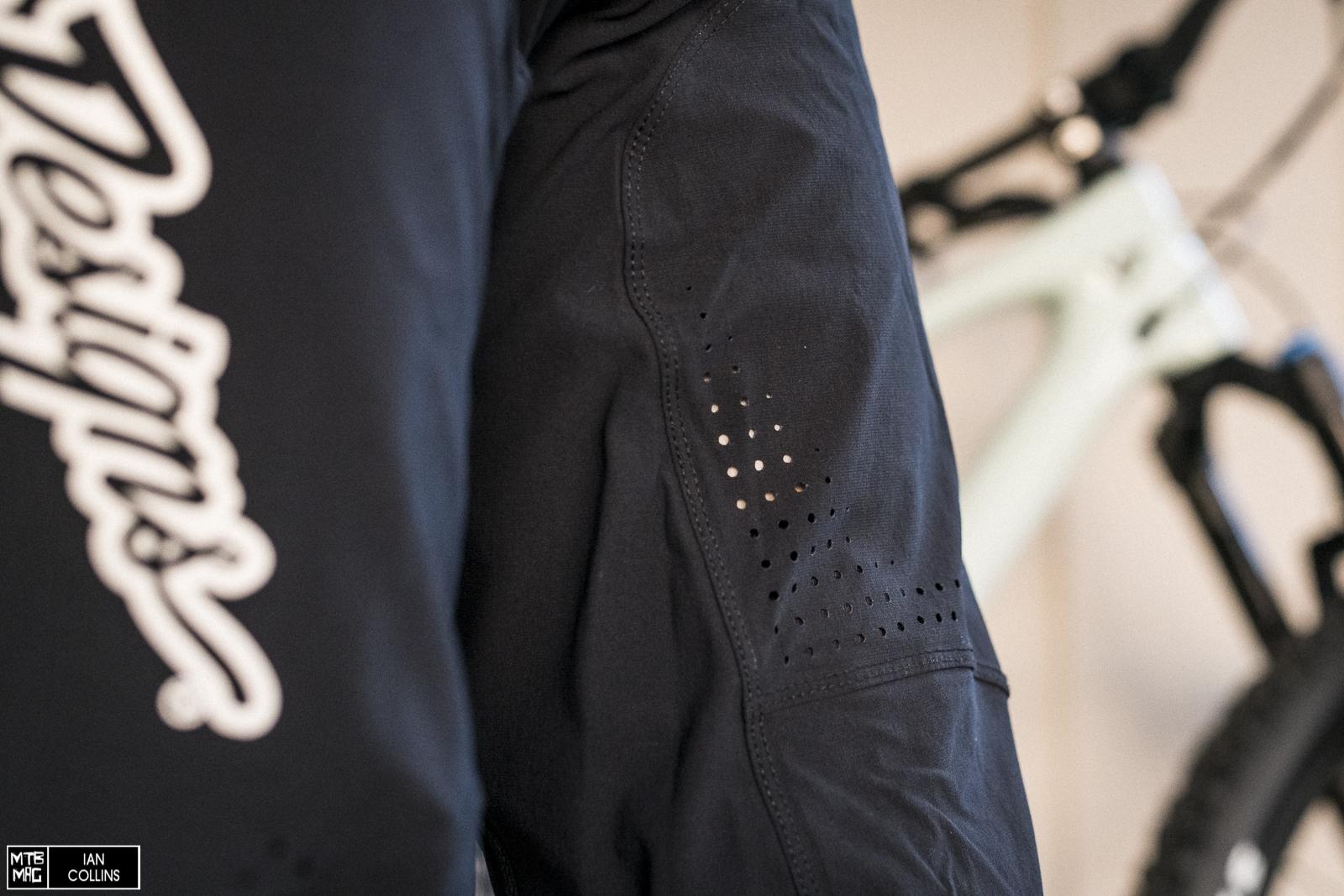 Black All Mountain Sprint Ultra Short Mountain Bike Troy Lee Designs Mens